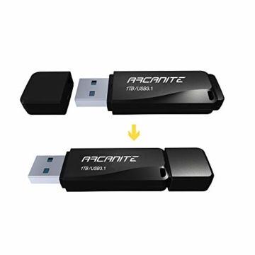 ARCANITE 1 TB USB 3.1 SuperSpeed USB-Stick, Lesegeschwindigkeiten von bis zu 400 MB/s. - 3