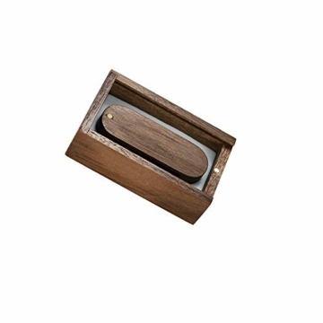 Garrulax USB-Speicherstick, 8 GB / 16 GB / 32 GB, Premium-Rotation, massives Holz, High Speed USB 2.0 Flash Drive Memory Stick Datenspeicherung Pendrive Thumb Disk mit Holzbox - 4