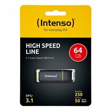 Intenso 3537490 64GB USB Stick High Speed Line USB 3.1 - 2