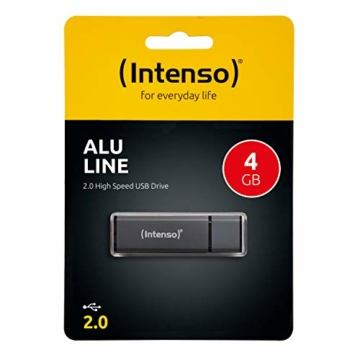 Intenso Alu Line 4 GB USB-Stick USB 2.0 anthrazit - 3