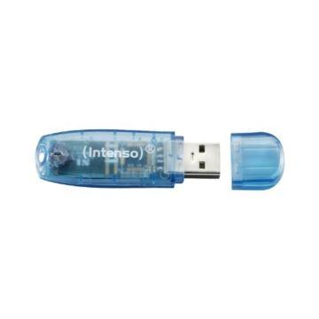 Intenso Rainbow Line 4 GB USB-Stick USB 2.0 blau - 2
