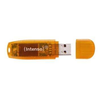 Intenso Rainbow Line 64 GB USB-Stick USB 2.0 orange - 2