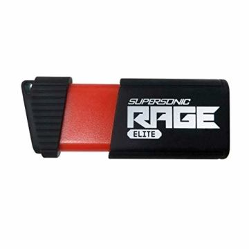 Patriot 1TB Supersonic Rage Elite Series USB 3.0 Flash Drive with Up to 400MB/sec Read, 300MB/s Write - PEF1TBSRE3USB - 1