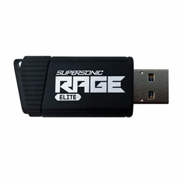 Patriot 512GB Supersonic Rage Elite Series USB 3.0 Flash Drive with Up to 400MB/sec Read, 300MB/s Write - PEF512GSRE3USB - 3