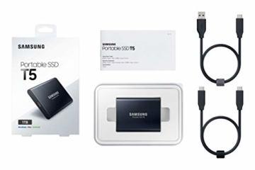 Samsung MU-PA1T0B/EU Portable SSD T5 1 TB USB 3.1 Externe SSD Schwarz - 6