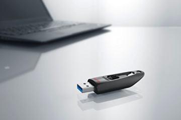 SanDisk Ultra 32GB USB-Flash-Laufwerk USB 3.0 bis zu 130MB/s, Schwarz - 3