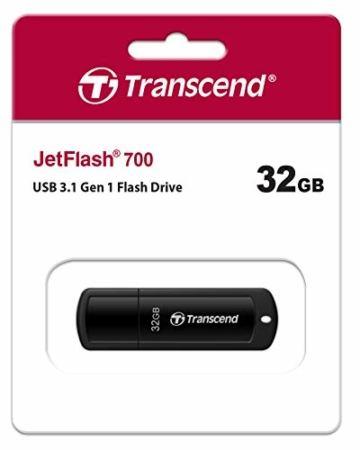 Transcend 32GB JetFlash 700 USB 3.1 Gen 1 USB Stick TS32GJF700 - 5