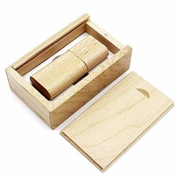 USB Speicherstick aus Holz mit Holzkiste 16 GB - 1