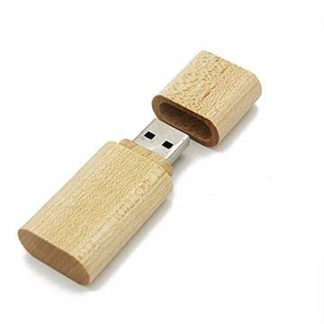 USB Speicherstick aus Holz mit Holzkiste 16 GB - 5