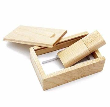 USB Speicherstick aus Holz mit Holzkiste 16 GB - 6