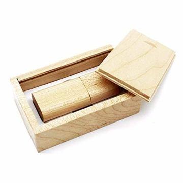 USB Speicherstick aus Holz mit Holzkiste 16 GB - 7